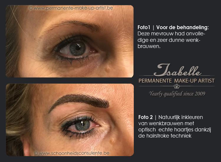 Voor-na-permanente-make-up-haartjes-wenkbrauwen_